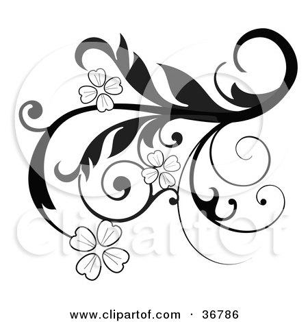 clipart illustration of elegant
