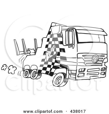 Cartoon Tow Truck Clip Art