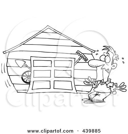 Garage Door With Man Cartoon Open Door Wiring Diagram ~ Odicis