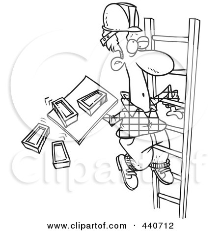Royalty-Free (RF) Ladder Clipart, Illustrations, Vector