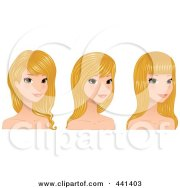 royalty-free rf haircut clipart