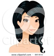 clipart happy black woman