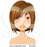 royalty-free rf clipart of haircuts