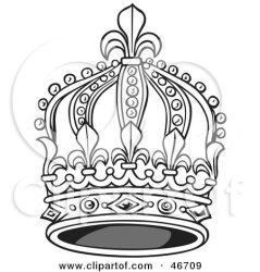 crown king clipart elegant tall drawing kings illustration queens hat dero simple illustrations royalty royal yellow clipartof vector getdrawings graphics