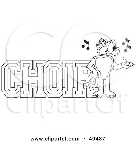 Cartoon Choir Of Seniors Posters, Art Prints by toonaday