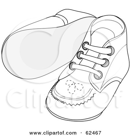 Royalty-Free (RF) Clipart Illustration of a Group Of Black