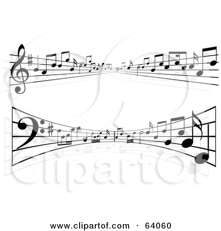 Royalty Free Sheet Music Illustrations by KJ Pargeter Page 1