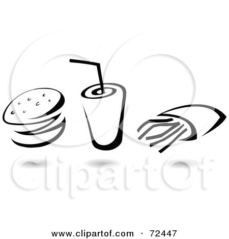 Royalty Free Fast Food Illustrations by cidepix Page 1