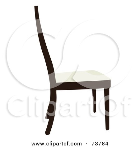 dark green recliner chair pads for rocking chairs royalty-free (rf) clipart illustration of a black silhouette wooden side table by jr #73786