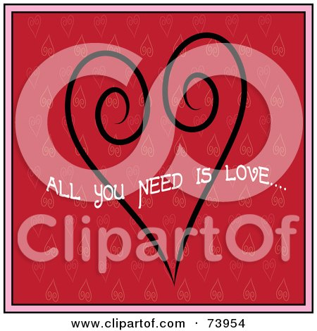 Download Royalty-Free (RF) All You Need Is Love Clipart ...