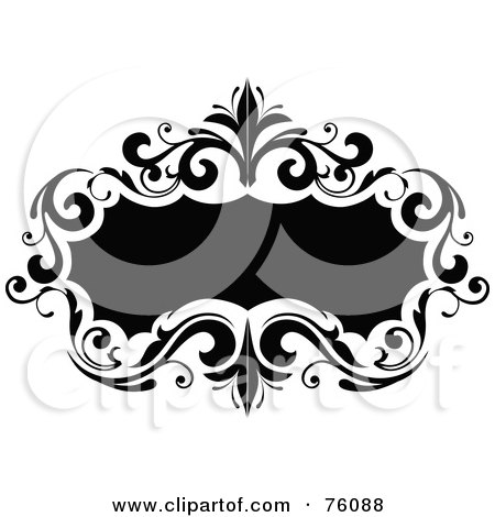 Royalty-Free (RF) Clipart Illustration of a Decorative