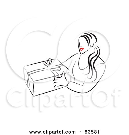 Women Giving Birth Clipart