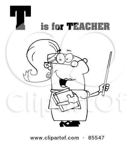 Royalty-Free (RF) Teacher Clipart, Illustrations, Vector