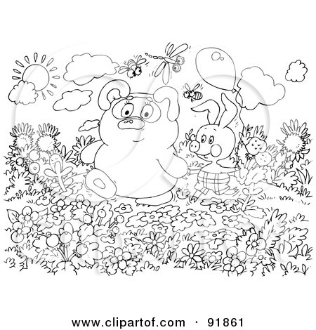 Royalty Free Bear Illustrations by Alex Bannykh Page 2