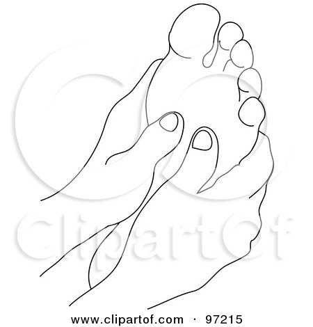 Royalty-Free (RF) Massage Therapy Clipart, Illustrations