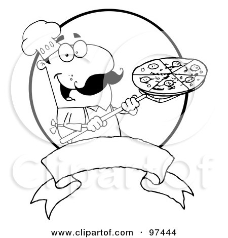 Pizza In Box Coloring Page Coloring Pages