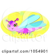royalty-free rf dragonfly clipart