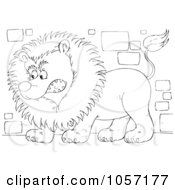 Royalty Free Lion Illustrations by Alex Bannykh Page 1