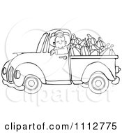 Royalty-Free (RF) Pick Up Truck Clipart, Illustrations