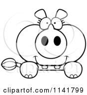 Royalty-Free (RF) Clipart of Rhinoceros, Illustrations