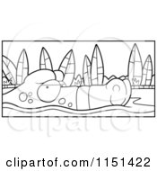 Royalty-Free (RF) Clipart Illustration of a Happy