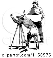 Royalty-Free (RF) Clip Art Illustration of a Cartoon