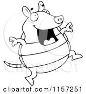 Royalty-Free (RF) Jumping Armadillo Clipart, Illustrations