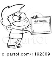 Royalty-Free (RF) Clipart of Certificates, Illustrations
