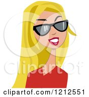 royalty-free rf long blond hair