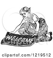 Royalty-Free (RF) Welcome Mat Clipart, Illustrations