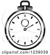 stopwatch clipart illustration hand royalty perera lal vector holding illustrations digital graphics clipartof