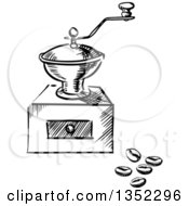 Royalty-Free (RF) Coffee Grinder Clipart, Illustrations