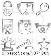 Royalty Free Security Illustrations by Seamartini Graphics