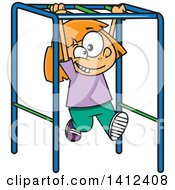 RoyaltyFree RF Clipart of Monkey Bars Illustrations