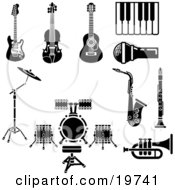 Royalty Free Stock Illustrations of Drums by Geo Images Page 1