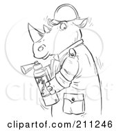 Royalty-Free (RF) Fire Extinguisher Clipart, Illustrations
