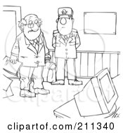 Security Guard Coloring Pages Coloring Pages
