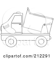 Royalty-Free (RF) Clipart Illustration of a Black