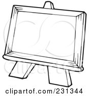 Royalty Free Easel Illustrations by visekart Page 1