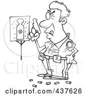 Royalty-Free (RF) Shooting Range Clipart, Illustrations