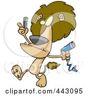 royalty-free rf blow dryer clipart