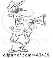 famous director clip art