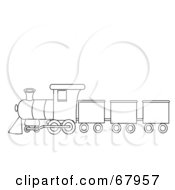 Royalty Free Train Illustrations by Pams Clipart Page 1