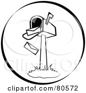 Royalty-Free (RF) Open Mailbox Clipart, Illustrations