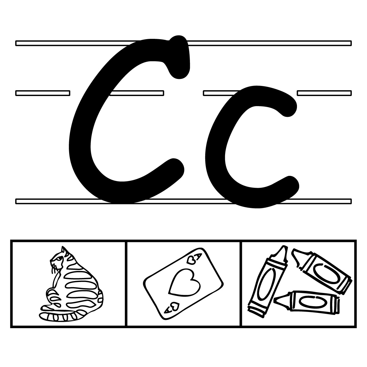 Clip Art Alphabet Set 01 C Clipart Panda