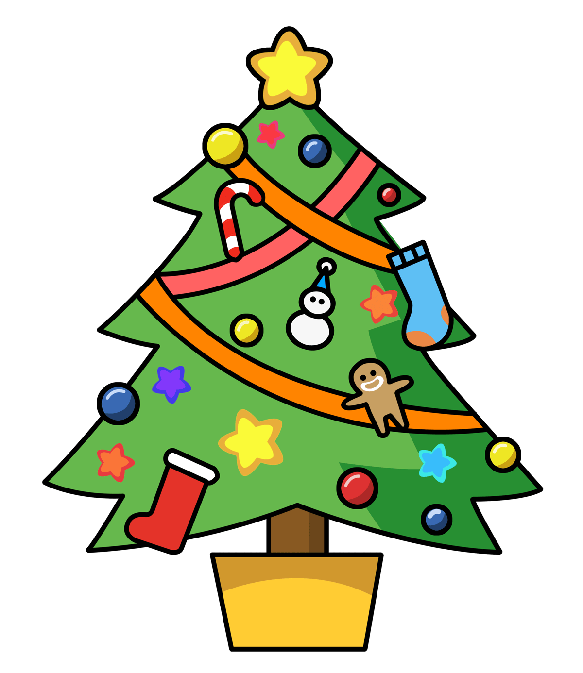 hight resolution of christmas clip art