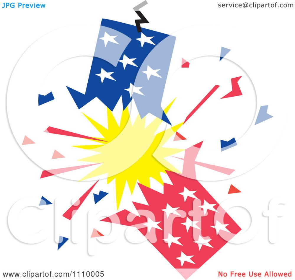 medium resolution of 4th of july fireworks white background