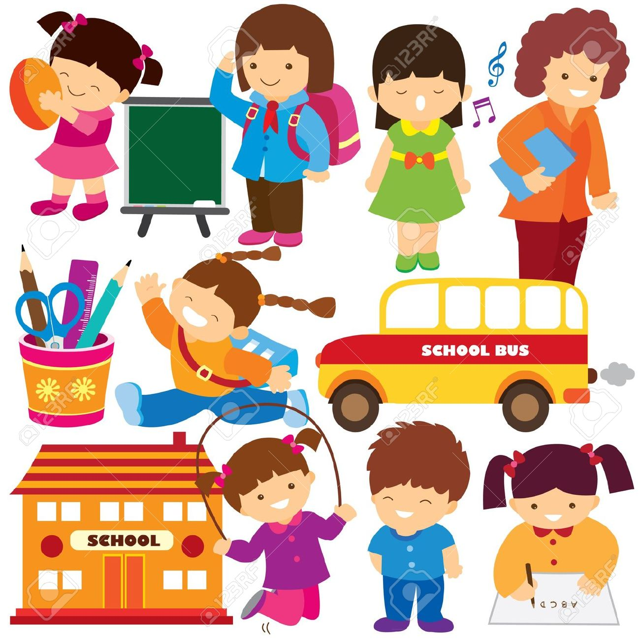 hight resolution of activity clipart back to school clip art