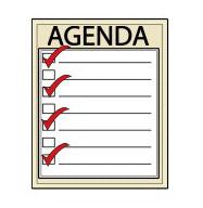 Image result for agenda images
