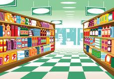 supermarket aisle clipart illustration generic food shelving shelf vector items shelves clipartpanda background shopping illustrations dreamstime packages painting vectors terms
